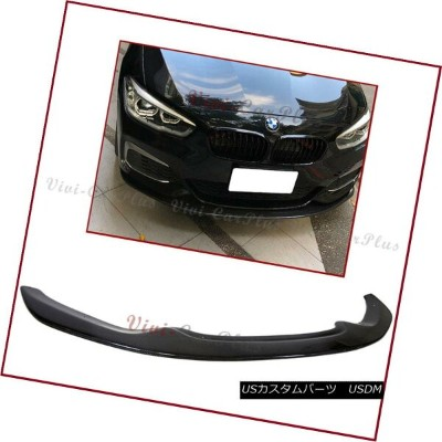 エアロパーツ Carbon Fiber L.W Type Front Lip For BMW 15+ F20 F21 LCI Hatchback M-Sport Bumper カーボンファイバーL...