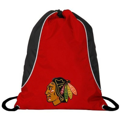 NHL チームロゴ バックサック ブラックホークス Chicago Blackhawks Red-Black Axis Backsack