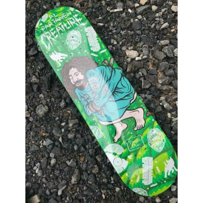 【 CREATURE 】 PSYCH WARD PARTANEN 8.3×32.2 Skateboard Deck クリーチャー スケートボード デッキ