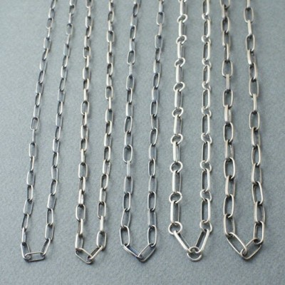 NAVAJO SILVER CHAIN FOR CODY TYPE3