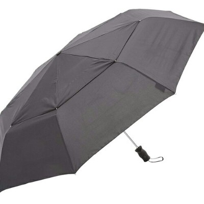 7523 BLK TOTES トーツ Vented Canopy(totes Line)折り畳み傘 ユニセックス 晴雨兼用 国内正規品