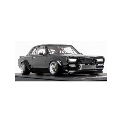 1/43 Nissan Skyline 2000 GT-R (KPGC10) Black Metallic【IG1604】 ignitionモデル