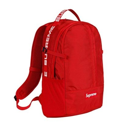 """Supreme Bag Pack """" RED """" 18SS ( シュプリーム バックパック """" レッド """" 18SS) (Red)"""