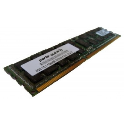 8GB Memory Upgrade for Supermicro SuperStorage 2027B-DE2R24L DDR3 1333MHz PC3-10600 ECC レジスター...