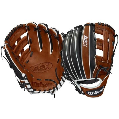 ウィルソン Wilson メンズ 野球 グローブ【A2K 1721 Fielder's Glove】Copper/Black/White