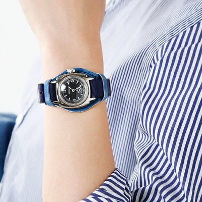 """Vague Watch Co.(ヴァーグウォッチカンパニー)ミリタリーアナログウォッチ""""COUSSIN MIL"""" co-s-007-27000-rf"""