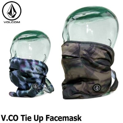17-18 VOLCOM ボルコム メンズ フェイスマスク スノーボード 【V.CO TIe Up Facemask 】 メール便不可 日本正規品【返品種別OUTLET】