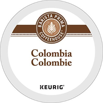 Barista Prima Coffeehouse, Colombia, 24- Count K-Cup Portion Pack for Keurig Brewers by Barista...