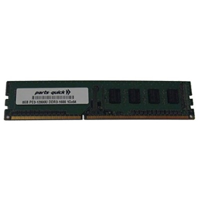 8GB DDR3 Memory for ASRock - Motherboard X79 Extreme4-M PC3-12800 1600MHz NON-ECC デスクトップ DIMM RAM...