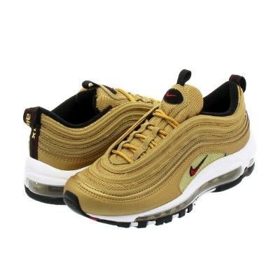 NIKE WMNS AIR MAX 97 OG QS ナイキ ウィメンズ エア マックス 97 OG QS METALLIC GOLD/VARSITY RED/WHITE/BLACK 885691...
