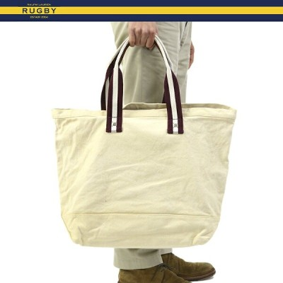 RUGBY by Ralph Lauren Vintage Canvas Tote Bag ラグビー ラルフローレン ビンテージ トートバッグ