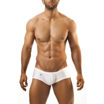 Joe Snyder JS13-White-XL Mens Cheek Boxer, White - Extra Large
