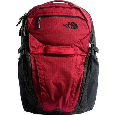(取寄)ノースフェイス ルーター 40L バックパック The North Face Men's Router 40L Backpack Rage Red Ripstop/Tnf Black