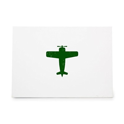 Aeroplane Style 6081, Rubber Stamp Shape great for Scrapbooking, Crafts, Card Making, Ink Stamping...