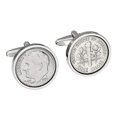 58th birthday- 1959年純正Coin Cufflinks