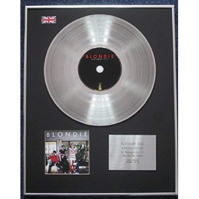 Blondie - Limited Edition CD Platinum LP Disc - Greatest Hits