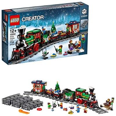 レゴ クリエイター 6135658 LEGO Creator Expert Winter Holiday Train 10254 Christmas Train Set with Full...