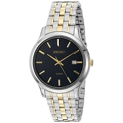 セイコー 腕時計 メンズ SUR181 Seiko Quartz Stainless Steel Dress Watch, Color:Two Tone (Model: SUR181)セイコー...