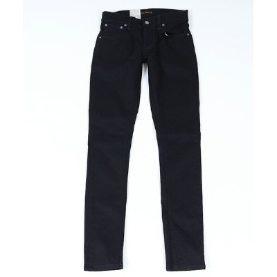 【Nudie Jeans(ヌーディージーンズ)】TIGHT TERRY DEEP BLACK パンツ