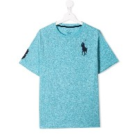 Ralph Lauren Kids Big Pony Tシャツ - ブルー