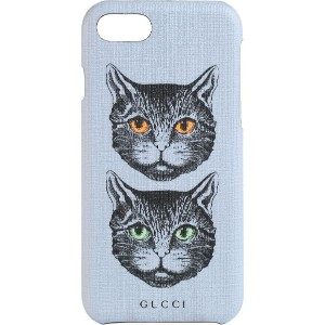 Gucci Mystic Cat iPhone 8 ケース - パープル