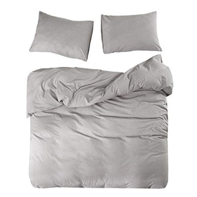 "Wake In Cloud 掛け布団カバー3点セット Queen (duvet cover 90""x90"") A1104-BT3-Q(J)"