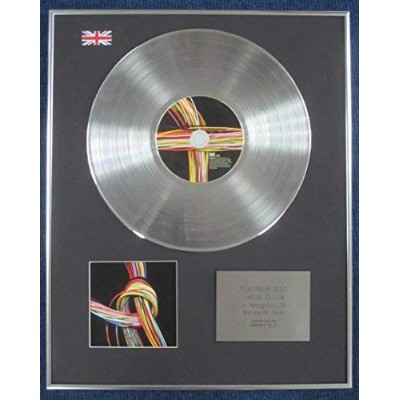 DELAYS- Limited Edition CD Platinum LP Disc - YOU SEE COLOURS