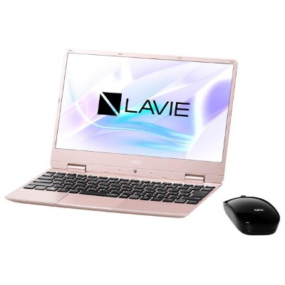 NEC ノートパソコン KuaL LaVie Note Mobile メタリックピンク PC-NM750MAG-E1 [PCNM750MAGE1]【RNH】