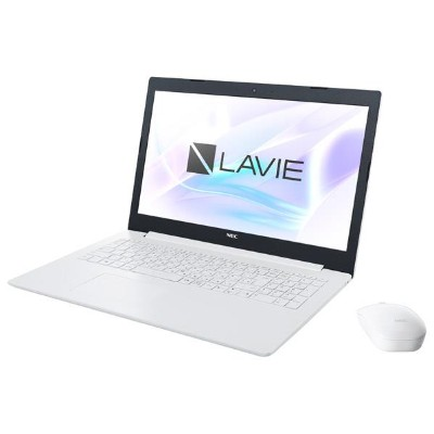 NEC ノートパソコン KuaL LaVie Note Standard カームホワイト PC-NS600MAW-E3 [PCNS600MAWE3]【RNH】