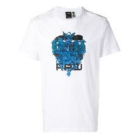 G-Star Raw Research Crest Tシャツ - ホワイト