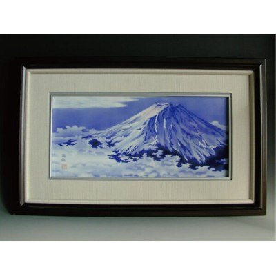 A300-9【ふるさと納税】深川製磁 富士山 特大陶額