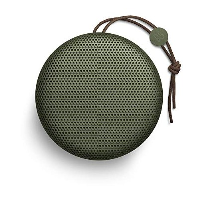 Bang & Olufsen ワイヤレススピーカー BeoPlay A1 Bluetooth/通話対応/防滴/連続24時間再生 グリーン【国内正規品/保証2年】