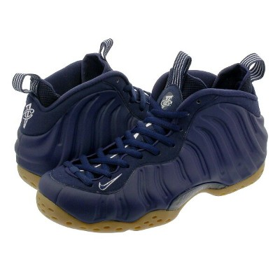NIKE AIR FOAMPOSITE ONE ナイキ エア フォームポジット ワン MIDNIGHT NAVY/GUM LIGHT BROWN 314996-405