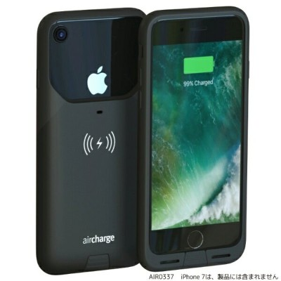Air Charge Air Charge MFi ワイヤレスチャージングケースiPhone7用 AIR0337 ブラック