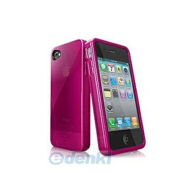iSkin[UNSOLO4G-PK] iSkin ソフトケース Solo for iPhone 4/4S Pink(UNSOLOSE4-PK4) UNSOLO4GPK
