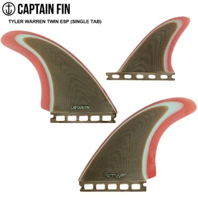 CAPTAIN FIN キャプテンフィン FUTURE フィンTYLER WARREN TWIN ESP (SINGLE TAB) Twin + TrailerLimited La Especial...