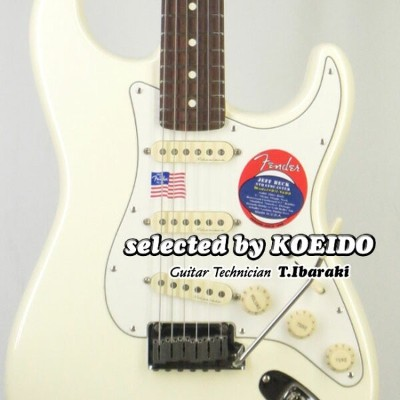 Fender USA Jeff beck Stratocaster OWH/R(selected by KOEIDO)店長厳選、別格のジェフ・ベック・ストラト!フェンダー 光栄堂
