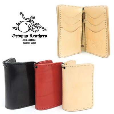 【OCTOPUS LEATHERS】オクトパスレザース【送料無料/あす楽】TYPE2 MIDDLE WALLET タイプ2 ミドルウォレット/栃木レザー/ワイルド/ミドルウォレット