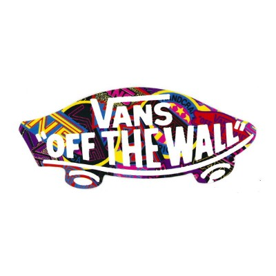 【メール便対応】 新色 VANS MULTI OFF THE WALL STICKER 入荷!