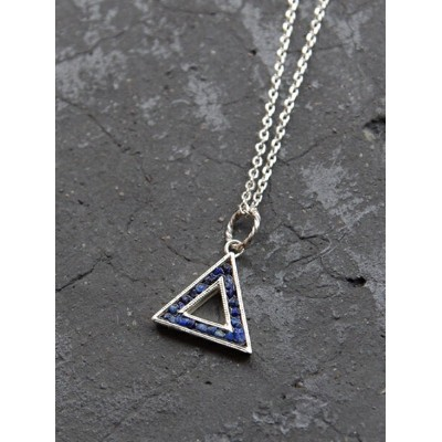 Garden of Eden | ガーデンオブエデン // SILVER TRIANGLE NECKLACE  シルバーネックレス 【送料無料】