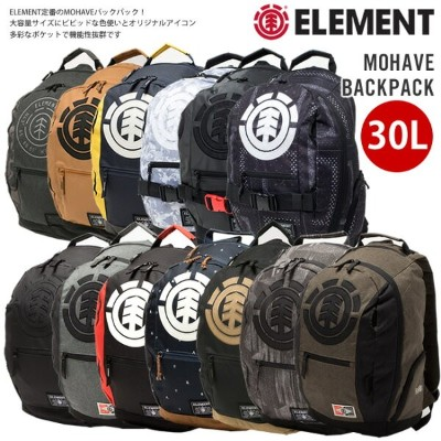 25%OFFセール メンズ リュック ELEMENT エレメント 大容量 通勤 通学 部活 レジャー レディース 高校生 リュックサック バックパック MOHAVE BACK PACK 30L...