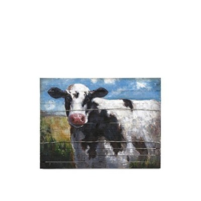 IMAX 76239 Ella Elaine Lester Cow Oil Painting by Imax [並行輸入品]