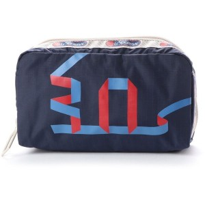 【SALE 31%OFF】レスポートサック LeSportsac RECTANGULAR COSMETIC (30TH NAVY) レディース