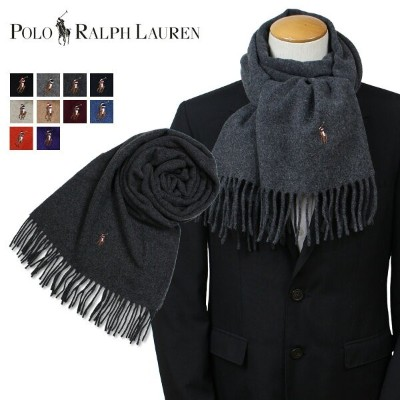 ポロ ラルフローレン POLO RALPH LAUREN マフラー メンズ ウール SIGNATURE ITALIAN VIRGIN WOOL SCARF PC0227