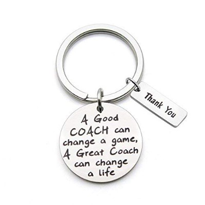 Zuo Bao CoachキーチェーンA Good Coach変更できAゲームA Great Coach変更できA Life Thank Youギフトの指導者