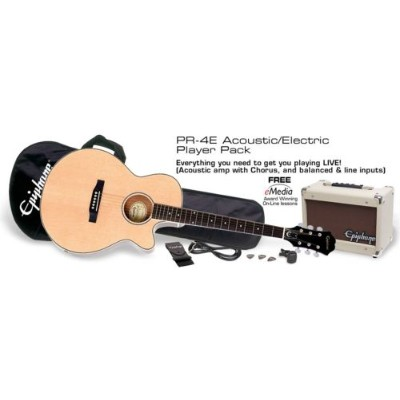 Epiphone PR-4E Acoustic/Electric Player Pack 【エレアコ入門セット】