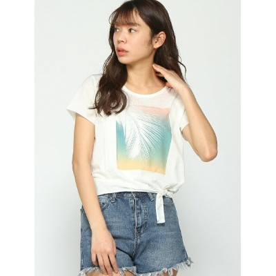 【SALE/30%OFF】ROXY (W)NOBODY IN THE WORLD ロキシー カットソー Tシャツ ホワイト