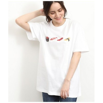【SALE/30%OFF】Adam et Rope' Le Magasin 【TOKYOPiXEL×LeMagasin】コラボTシャツ アダム エ ロペ ル マガザン カットソー【RBA_S】...