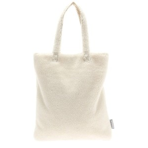 【SALE 68%OFF】グリーンパークス Green Parks ボアビッグトート (Ivory) レディース