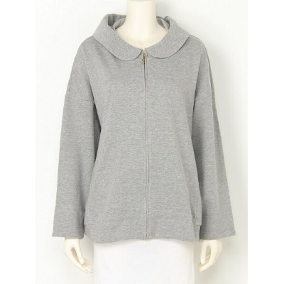 【SALE/50%OFF】franche lippee L-size franche lippee L-size/春いぬみみ変形パーカー フランシュリッペ カットソー パーカー グレー ピンク...